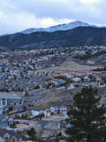 Colorado Springs Royalty Free Stock Photography