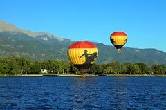 Colorado Springs Balloon classic 2010 Royalty Free Stock Photos