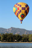 Colorado Springs Balloon Classic. A beautiful hot air balloon at the Colorado Springs Balloon Classic, an annual event and Colorado's largest ballooning event royalty free stock photo