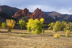 Colorado Springs Co Image libre de droits