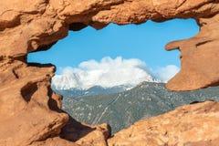 Free Colorado Springs, Colorado, USA  With Pikes Peak Royalty Free Stock Image - 177948396