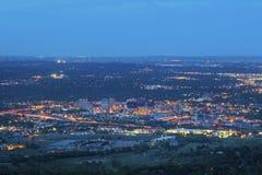 Colorado Springs del centro immagine stock libera da diritti