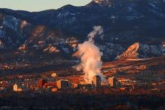 Colorado Springs du centre Photo stock