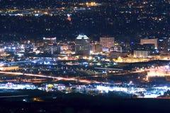 Colorado Springs horisont Arkivbilder