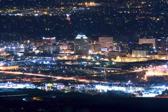 Colorado Springs Skyline Stock Images