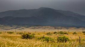 Colorado Springs. Wide open range in Alamosa County, Colorado Stock Images