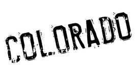 Colorado stamp rubber grunge Royalty Free Stock Photography