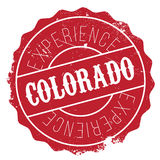 Colorado stamp rubber grunge Royalty Free Stock Photo