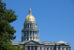 Colorado State Capitol Building in Denver Stock Photography