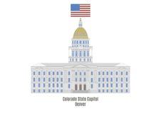 Colorado State Capitol Building, Denver Stock Image