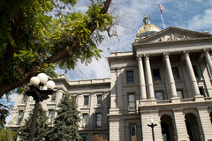Colorado State Capitol Building in downtown Denver Stock Photography