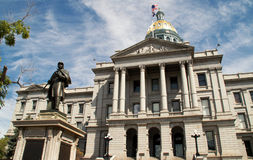 Colorado State Capitol Building in downtown Denver Stock Photos