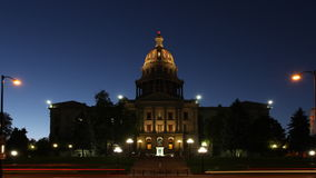 Colorado State Capitol Building Timelapse