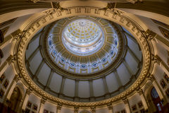 Colorado State Capitol dome and portraits Stock Photo