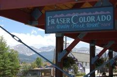 Colorado-Station Lizenzfreie Stockfotos