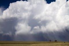 Colorado storm Arkivbilder