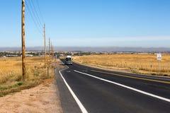 Colorado-Straße zu Boulder-Stadt Lizenzfreies Stockbild