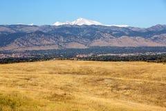 Colorado-Straße zu Boulder-Stadt Lizenzfreie Stockfotografie