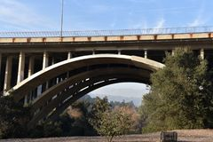 Colorado street bridge Stock Photo