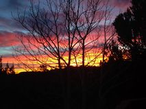 Colorado Sunrise Royalty Free Stock Photography