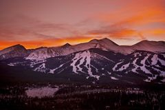Colorado Sunset Stock Images