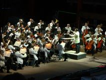 Free Colorado Symphony Orchestra At Red Rocks Royalty Free Stock Image - 5674496