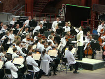 Colorado Symphony Orchestra at Red Rocks Royalty Free Stock Photos