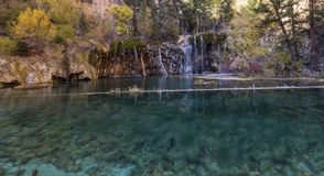 Colorado tem a paisagem bonita de surpresa, as cachoeiras e a natureza, EUA, curso imagem de stock royalty free