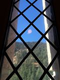 Colorado till och med exponeringsglas Royaltyfria Bilder