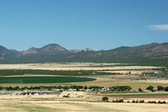Colorado town Royalty Free Stock Photography