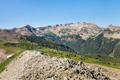 The Colorado Trail in the San Juan Mountains Stock Photo