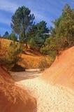 Colorado van Rustrel royalty-vrije stock afbeelding