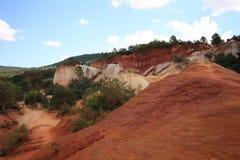 Colorado van Rustrel - de Provence Royalty-vrije Stock Afbeelding