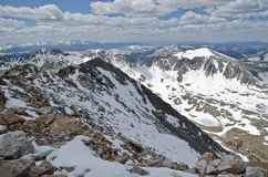 Colorado white mountains Royalty Free Stock Photography