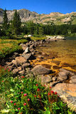 Colorado Wilderness. Colorado and the vast wilderness mountain lakes Stock Images