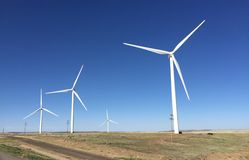Colorado Wind Farm Royalty Free Stock Photography