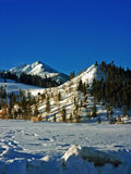 Colorado Winter Mountains Royalty Free Stock Photo