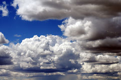 Colorado-Wolken Lizenzfreie Stockbilder