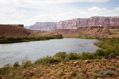 Coloradofloden royaltyfri fotografi