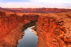 Coloradofloden Royaltyfria Foton