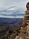 Coloradofloden som beskådas från watchtoweren Arkivbild