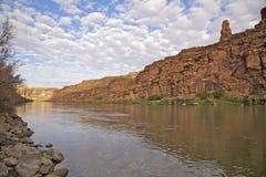 Coloradoflodenkanjon Arkivbild