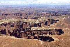 Coloradoflodenklyfta, ö i himlen, Utah arkivfoton