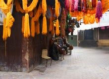 Colorant de textiles coloré typique Photo libre de droits