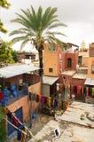 Colorant de textiles coloré typique Images stock
