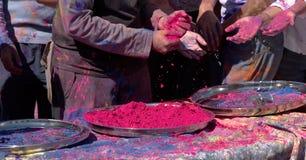 Colorant végétal coloré Photo libre de droits