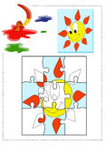 Colorante de Sun Imagen de archivo libre de regalías