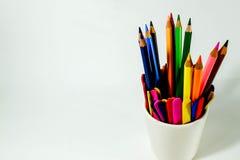 Colorante del lápiz Fotos de archivo libres de regalías