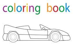 colorante del libro stock de ilustración