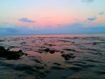 Colorante hermoso en el cielo Imagenes de archivo